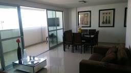 Apartamento 04 quartos 130 M2 - decorado, Rico em armários-Lazer completo