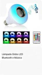 Lâmpada Globo musica Bluetooth