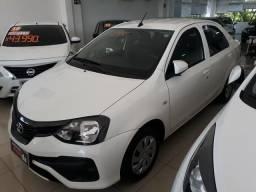Etios X Sedan 1.5 mecânico 18/19 - 2019