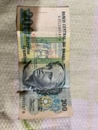 Nota de 200 Cruzeiros antigos