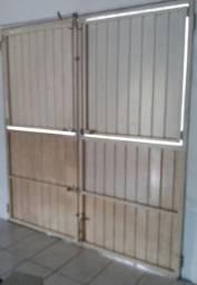 Portão de ferro para garagem ou comércio