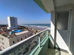 Apartamento excelente de 1 dormitório com vista mar no Balneário Flórida - Praia Grande/SP