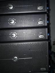 Usado, Dell servidores Poweredge de gaveta 2900,2850,T 310,410,645GX,745,racks e acessórios comprar usado  Rio de Janeiro