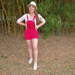 Jardineira Short