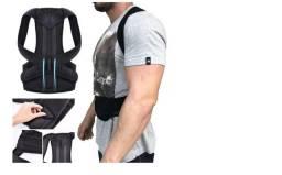 Cinta Colete P/ Coluna Corrigir Postura Hastes Aço Flexível