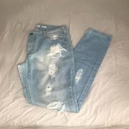Calça Jeans Destroyed M.Officer
