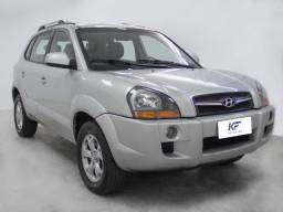 Hyundai Tucson 2.0 GLS Prata 2015 Automático Completo