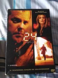 Box dvd 24 horas