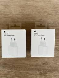 Carregador Apple iPhone Tipo C Turbo Original Pronta Entrega e cabos