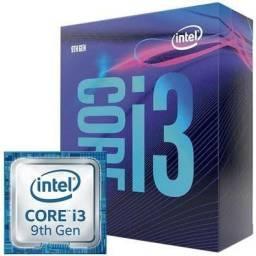 Kit i3 9100f +h310mhd +16 gb de memoria tudo com caixa