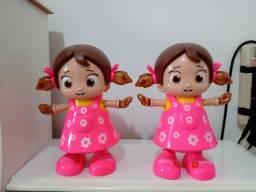 Bonecas dançarinas a pilha