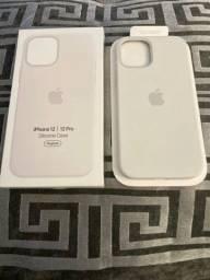 Capa Silicone Original Apple Para iPhone 12 E 12 Pro