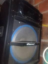 Caixa amplificado oneal