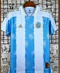 Camisa da Argentina thailandeza
