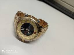 Relógio Masculino Naviforce Dourado