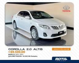 Título do anúncio: Lindo Corolla Altis 2013