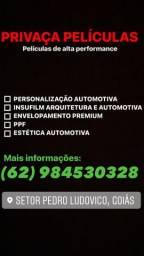 Título do anúncio: APLICAÇÃO DE PELÍCULAS, INSULFILM ARQUITETURA E AUTOMOTIVA