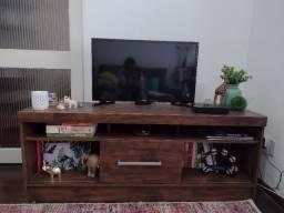 Rack para TV até 60 polegadas 1 porta de correr Contemporâneo Dalla Costa Nobre
