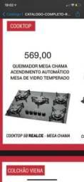 Título do anúncio: Fogão cooktop excelente custo benefício e entrega rápida