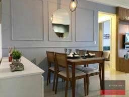 Título do anúncio: 2 dormitórios (1suíte), 1 vaga de garagem, em condomínio com área de lazer completa!