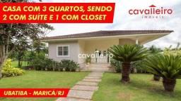 R$ 980.000 - Linda Casa em Cond. Com 280m² de Construção e 900m² de Terreno, Ubatiba - Mar