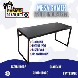 Título do anúncio: Mesa Gamer Estilo Industrial - Parcelamos em 12X