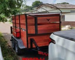 Título do anúncio: Carretinha BRAVOLLI ' PR ' Reboque linha pesada e leve com garantia e assistência brasil