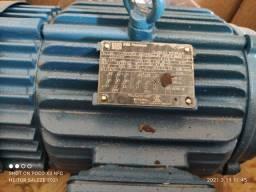 Motor Trifásico Weg de 5cv baixa rotação