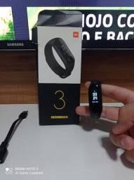 Relógio smart Band 3 novíssimo usado poucas vezes com carregador