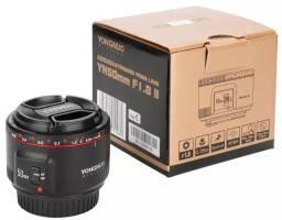 Nova lente Yongnuo YN 50mm F1.8 II  Canon