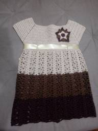 Vestido 3 marias infantil P