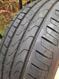 Título do anúncio: Pneu Pirelli Aro 16 Cinturato P7 195/55 R16 91V<br><br>