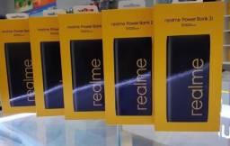 Carregador Portátil Realme Power Bank 2 RMA138 10.000 mAh Saídas USB e USB-C