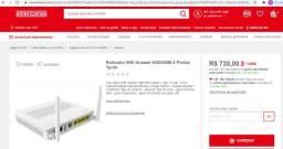 Título do anúncio: Roteador Wifi Huawei HG8546M 4 Portas 1pots