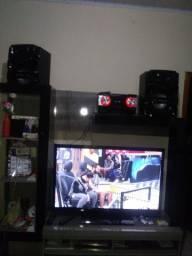 VENDO APARELHO DE SOM PANASONIC E UMA TELEVISÃO SAMSUNG 43 POLEGADAS