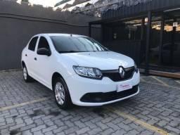 Título do anúncio: Renault Logan authentique 1.0 12v flex manual. Ent + R$ 641,34