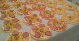 Fornecemos pizza brotinho 15 cm