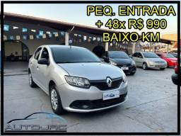 Título do anúncio: Renault Logan 1.0 *Baixo Km*