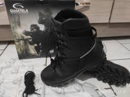 Título do anúncio: Bota/Coturno Guartelá Vigilante - Militar - Pesca - Camping