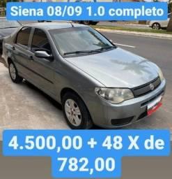 Título do anúncio: Siena 08/09 1.0 Completo 4.500,00 mais 48x de 782,00