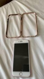 Título do anúncio: iPhone rosa usado