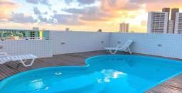 Apartamento com 2 dormitórios para aluguel, 55 m² por R$ 1.500,00 - Bancários