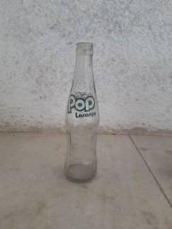 Garrafa POP LARANJA / refrigerante antigo, retrô