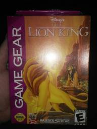 Rei Leão Game Gear Lacrado