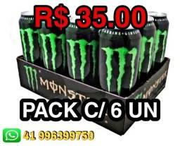 Título do anúncio: Monster energético - distribuidora de bebidas
