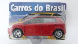 Miniatura Fiat Punto - Vermelho - Carrinho De Metal