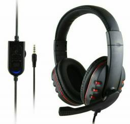 Fone Gamer Headphone Headset PS4, Xbox One, PC, Notebook, Celular