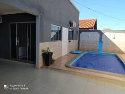 Título do anúncio: Casa com piscina, ótimo acabamento