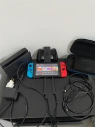 Vendo Nintendo switch com mais de 50 jogos