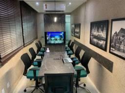 Alugue salas de reuniões por hora ou assine um plano mensal.